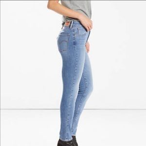 Levi's High Rise Skinny Jeans Sea Graze 1118
